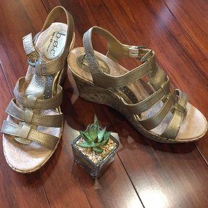 Born (b.o.c.) leather sandals